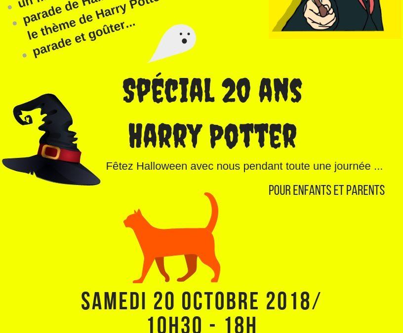 Fête Halloween Avec Harry Potter Médiathèque De Troyes